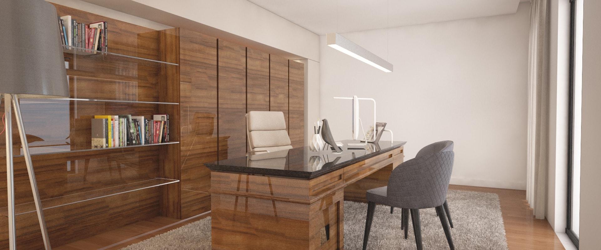 Iluminação escritório