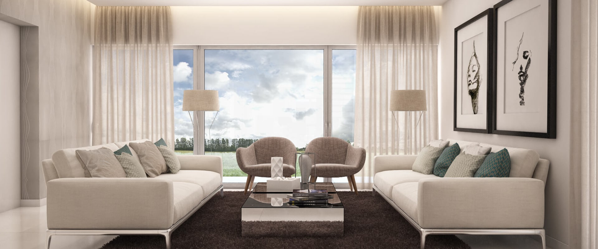 Contemporary style (living room)