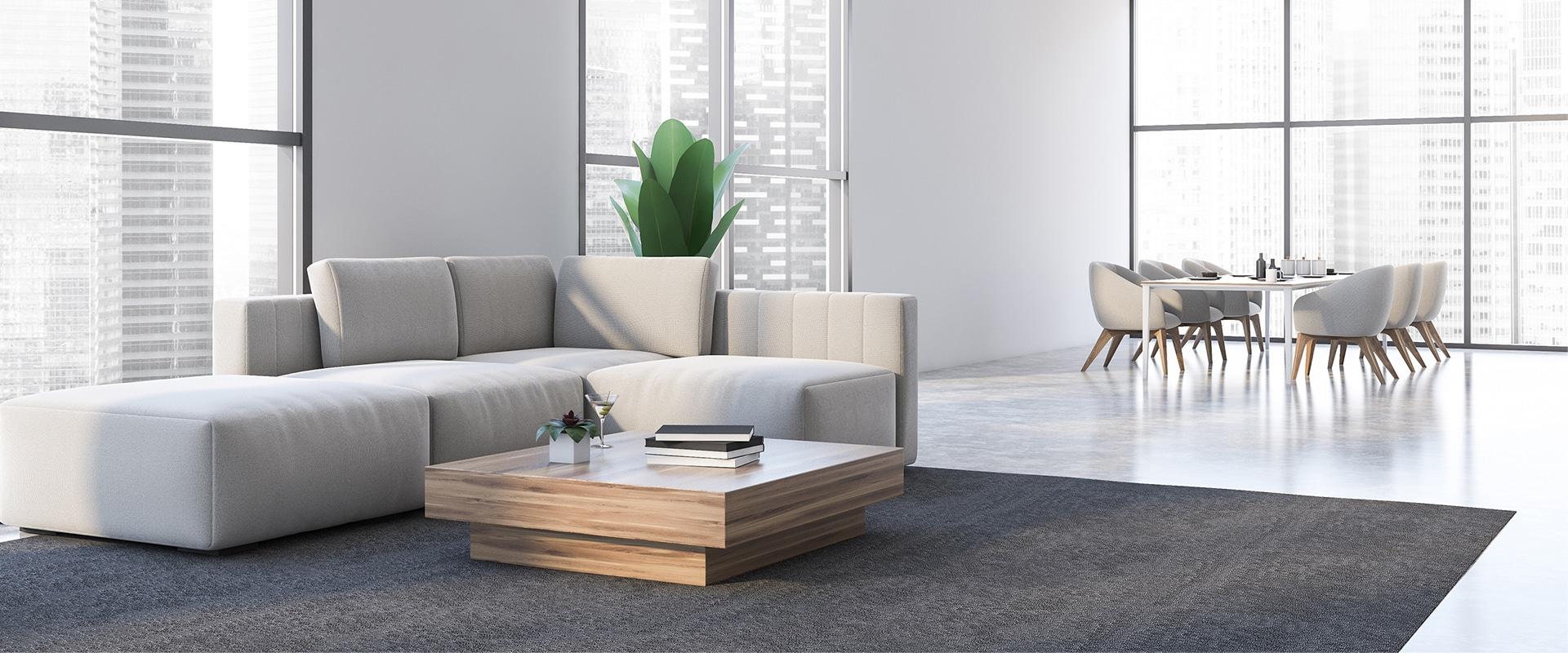 Minimalist style (living room)